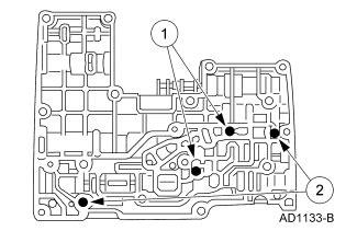 4t65e Diagram Checkball by Rebuilt 1999 4r100 With Transgo Tugger Valve Kit Has No