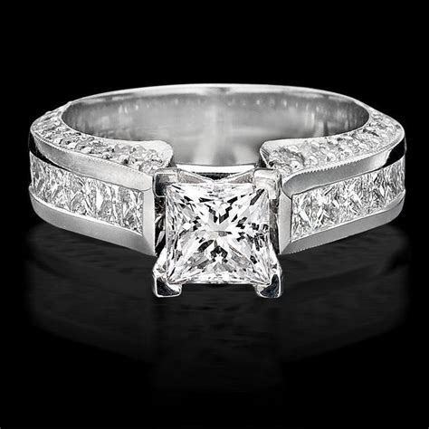 best selling style princess engagement ring with big diamonds bbr411 unique