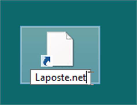 raccourci bureau mac créer un raccourci laposte sur le bureau de windows