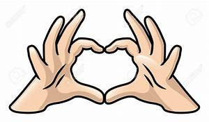 Hands Forming a Heart Clipart (51+)