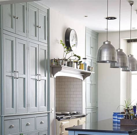 farrow and green blue kitchen modern country style modern country kitchen in farrow and 9664