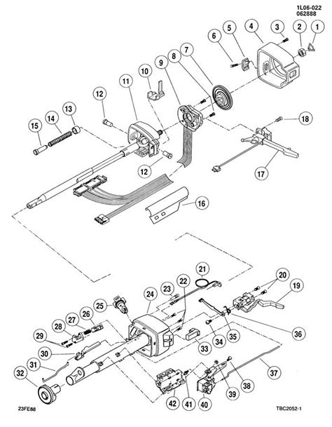 hayes auto repair manual 1990 buick estate engine control 1990 buick estate tilt steering column repair oem steering column assembly for 1987 buick