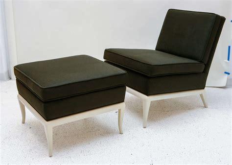 slipper chair and ottoman by t h robsjohn gibbings for