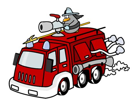 The Gallery For --> Fireman Car Cartoon Images