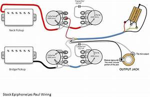 Epiphone Les Paul Standard Wiring Question