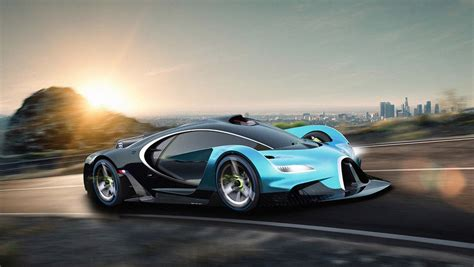 Bugatti Rendering Imagines A Raceready Hypercar Of The Future