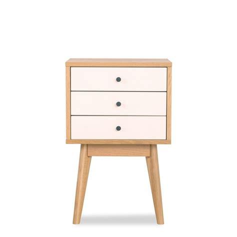 petit meuble de chambre meuble de rangement scandinave skoll 3 tiroirs by drawer fr