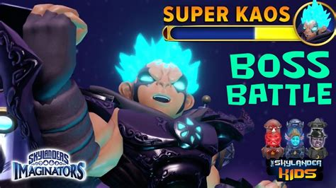 kaos saiyan by kaos battle skylanders imaginators