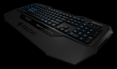 roccat isku fx and roccat isku keyboards out now capsule computers