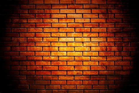 brick wall with up spotlight colourbox