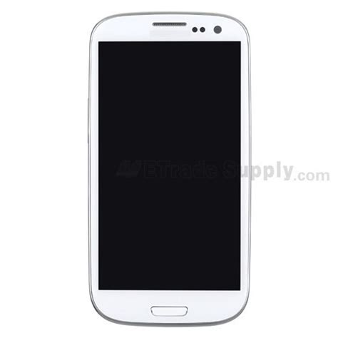 samsung i9300 lcd screen and digitizer assembly with front housing etrade supply