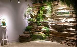 mur vegetal decoration daquarium et bassins de latelier With good decoration bois exterieur jardin 8 deco escalier interieur