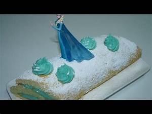 Gâteau Reine Des Neiges : gateau roule reine des neiges frozen cuisinerapide youtube ~ Farleysfitness.com Idées de Décoration
