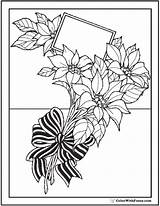 Coloring Flowers Bouquet Wild Flower Pages Bow Pdf Tulips Garlands Form Colorwithfuzzy sketch template
