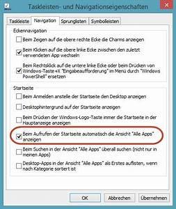 App Reagiert Nicht : alle apps beim aufruf der startseite anzeigen windows 8 1 e windows 8 paules pc forum ~ Orissabook.com Haus und Dekorationen