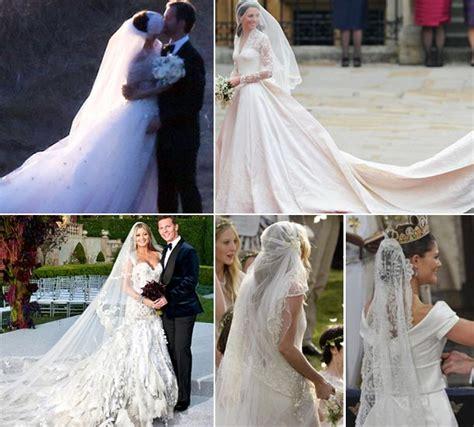 Memorable Wedding Dresses Long Trains And Veils Hello