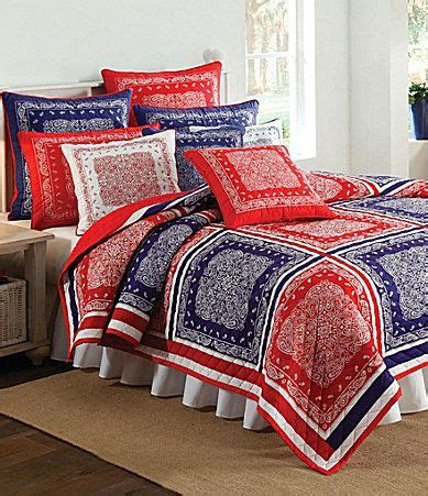 bandana quilt nobility quot bandana quot blue quilt