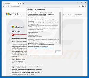 How To Uninstall Windows Security Alert Scam