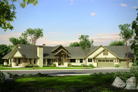 Lodge Style House Plans  Petaluma 31011  Associated Designs