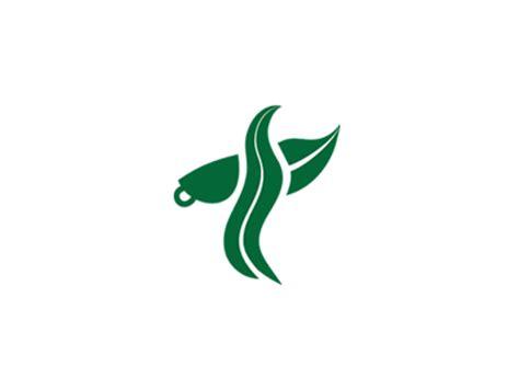 leaf green bird tea by communication agency dribbble