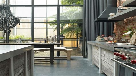 Industrial kitchens, industrial design modern industrial