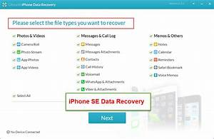 march 2016free iphone recovery With documents and data on iphone se