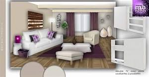 decoration salon et salle a manger With modele deco salon salle a manger
