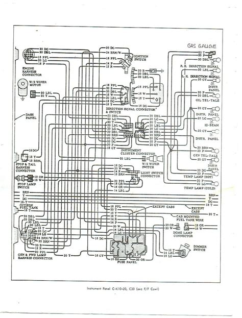 62 C10 Wiring by Fuel In 66 Chevy C10 The Stovebolt Forums