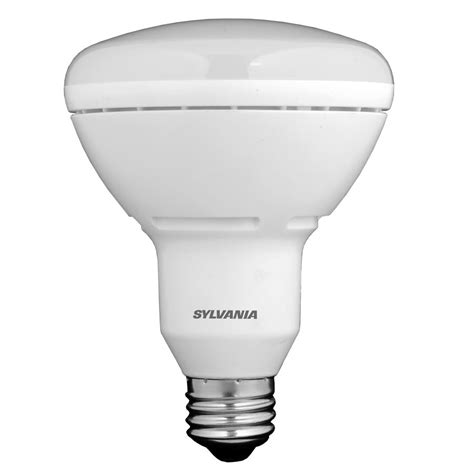shop sylvania 65w equivalent dimmable soft white br30 led