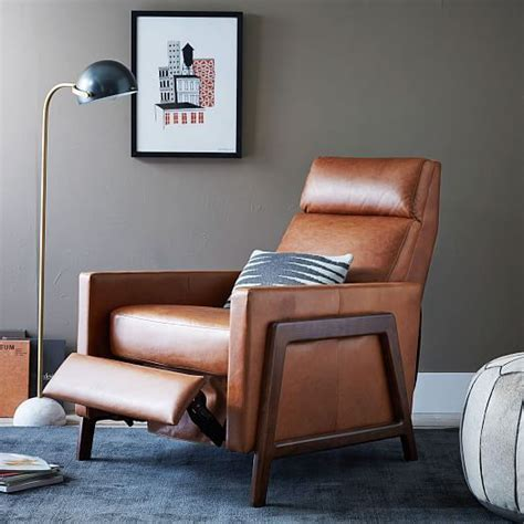 modern leather recliner 25 best ideas about leather recliner chair on