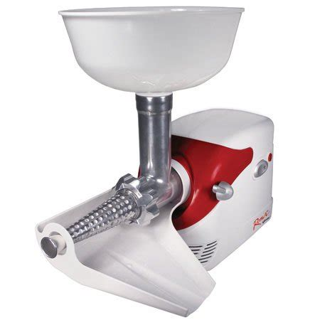 tomato electric strainer weston sauce maker roma deluxe walmart food brookstone canning tomatoes machine kitchen canada stainless beyond bath bed