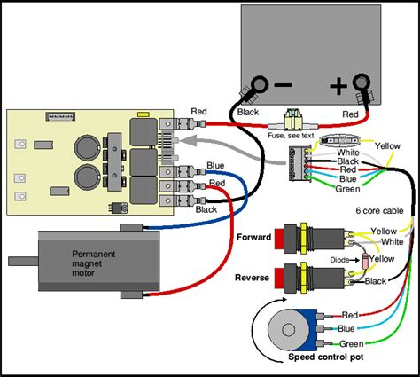 wiring for push button use 4qd electric motor