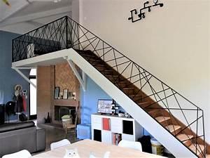 Rampe Pour Escalier : escalier m tallique design toulouse rampe garde corps sur mesure fer forg ~ Melissatoandfro.com Idées de Décoration