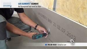 Wedi Platten Befestigen : lux elements montage bouwplaat element op metalen staanderwerk youtube ~ Udekor.club Haus und Dekorationen