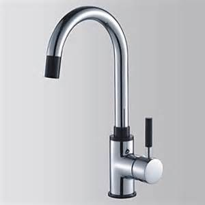 solid brass kitchen faucet solid brass contemporary chrome finish single handle