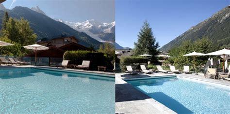 chambres d hotes chamonix il fait chaud les 8 plus belles piscines d 39 hôtels en