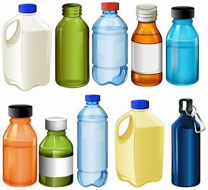 Bottles Vector Different Bottle Milk Graphics Elements