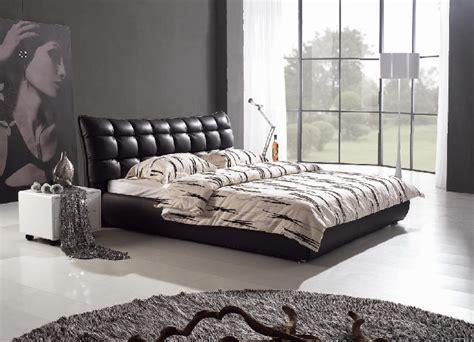 taille minimum chambre meubles de chambre à coucher lit en cuir italien