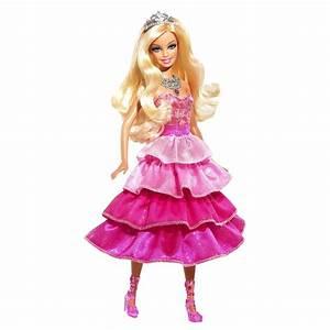 Mattel Barbie Sparkle Lights Pink Princess Doll New eBay