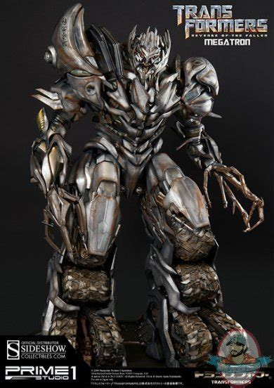 impressive kitchenware transformers of the fallen megatron statue by