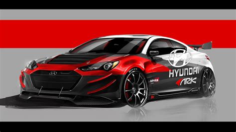 2012 Hyundai Genesis Coupe R Wallpaper