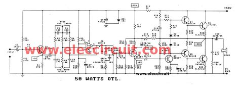 Rms Otl Integrated Audio Amplifier Circuit