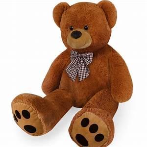 Ours En Peluche Xxl : nounours peluche ours g ant xl teddy bear brun marron ours en peluche ~ Teatrodelosmanantiales.com Idées de Décoration