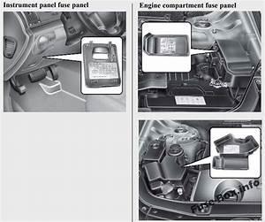 Fuse Box Diagram  U0026gt  Hyundai Veracruz    Ix55  2007