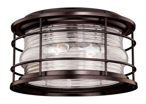 outdoor flush mount ceiling light fixtures vaxcel lighting t0166 burnished bronze hyannis 2 light