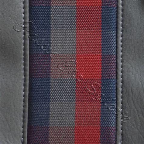 tissu pour siege voiture ensemble garniture de siège écossais renault 4