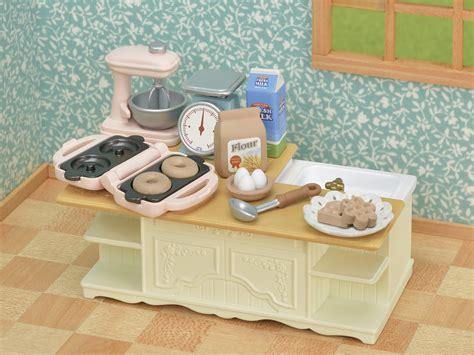 furniture island kitchen ka  sylvanian families japan