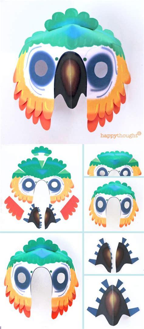 diy printable wild animal masks  mask templates