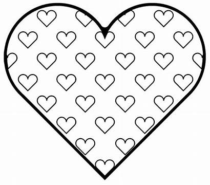 Heart Coloring Printable