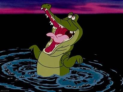 Pan Peter Disney Hook 1953 Animated Crocodile
